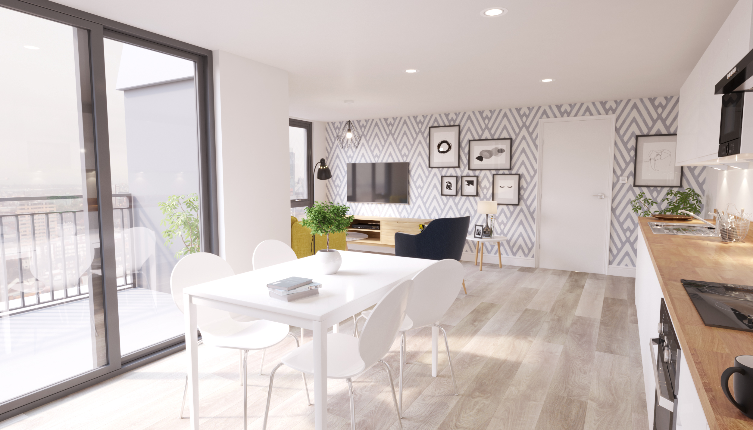 MCR Homes launches luxury penthouse apartments in Norwich